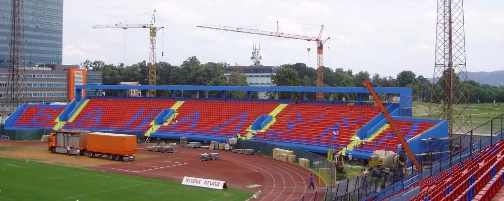 Epoksidni premaz EPOSAN E,tribine gradski stadion BORAC Banja Luka, EPOKSAN Čačak